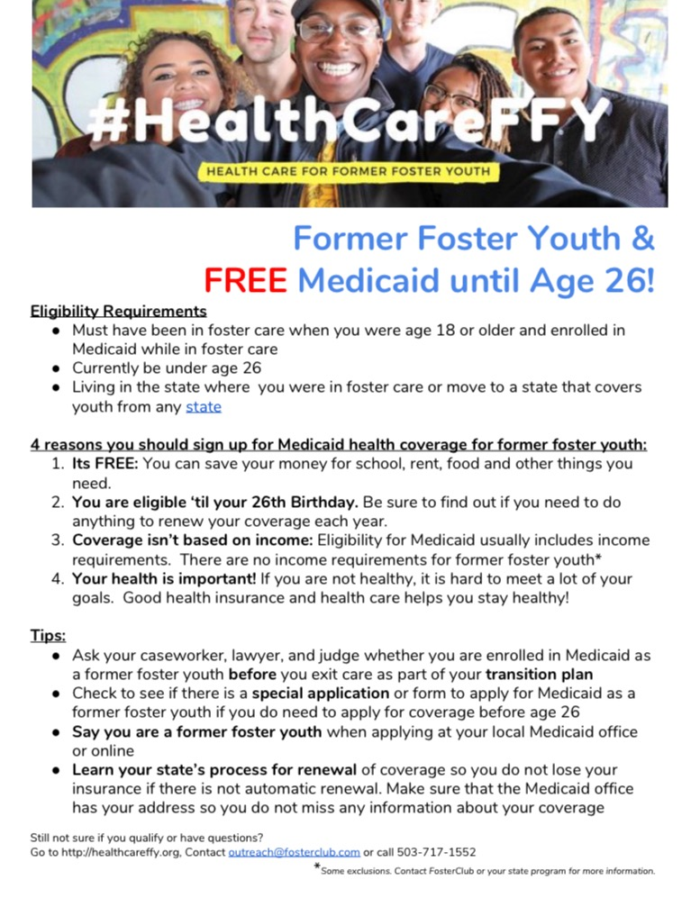 mHealth Care for Former Foster Youth