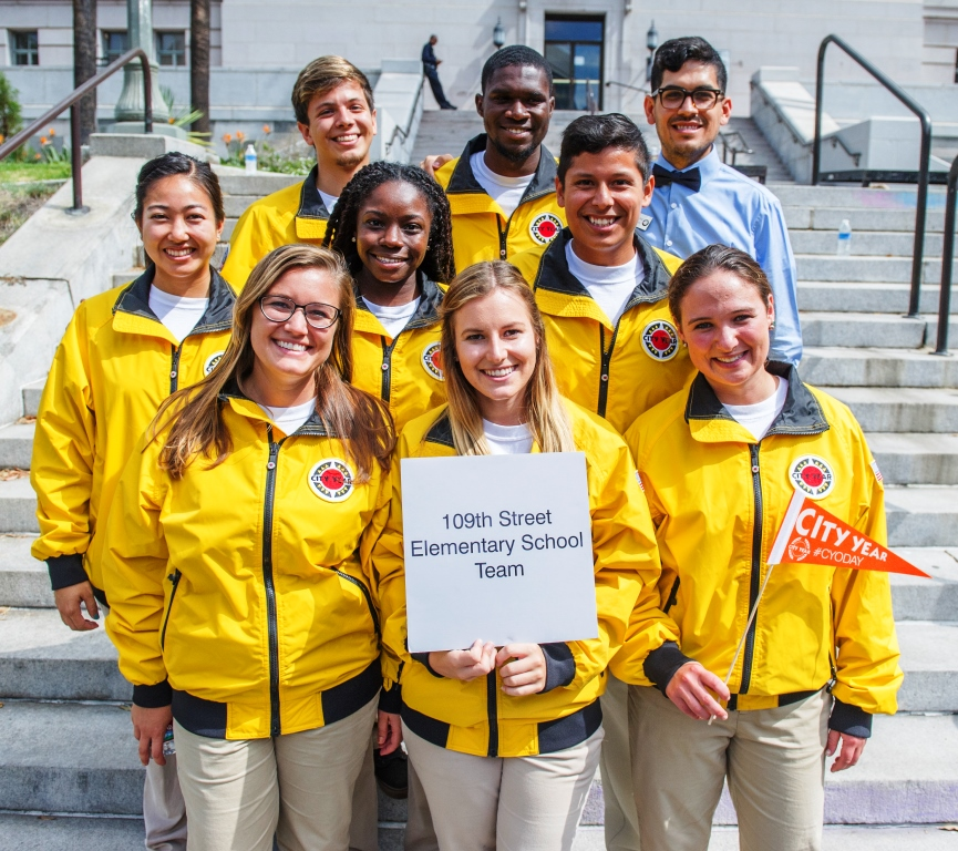 109th Elementary School City Year Members