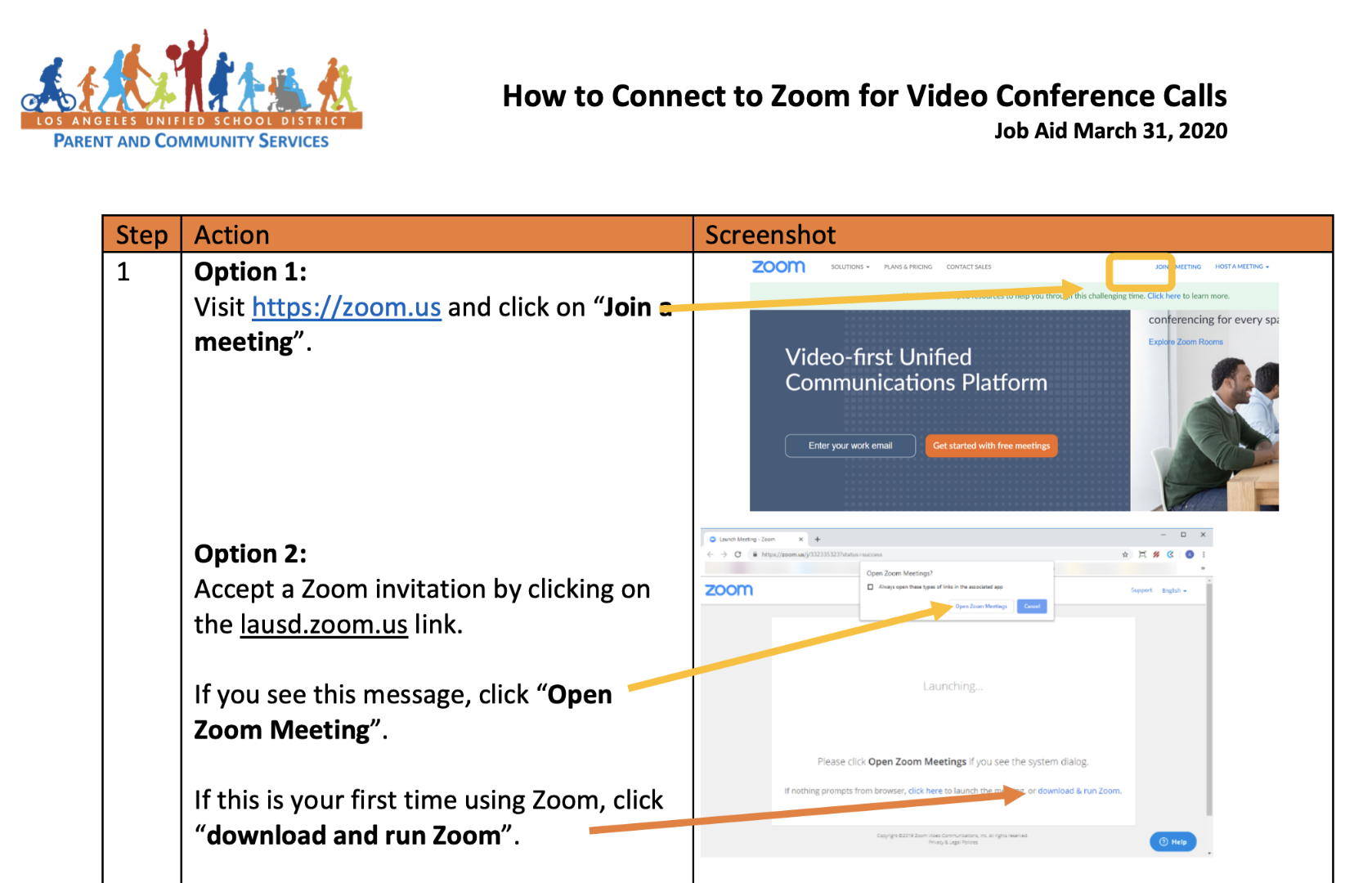Guide on How to Connect to Zoom