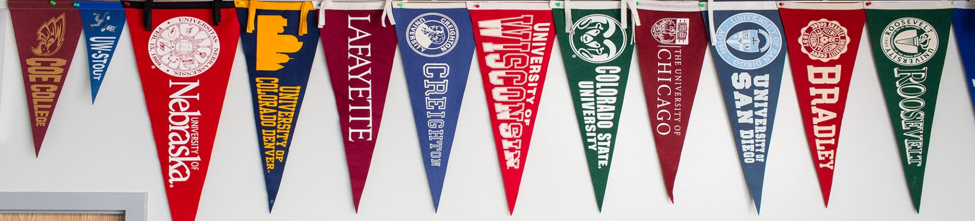 College Flags Picture