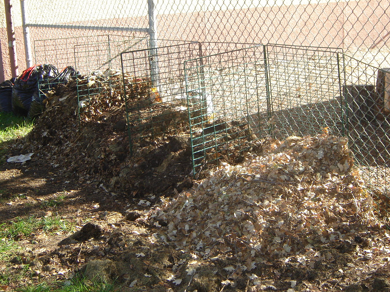We make our own compost