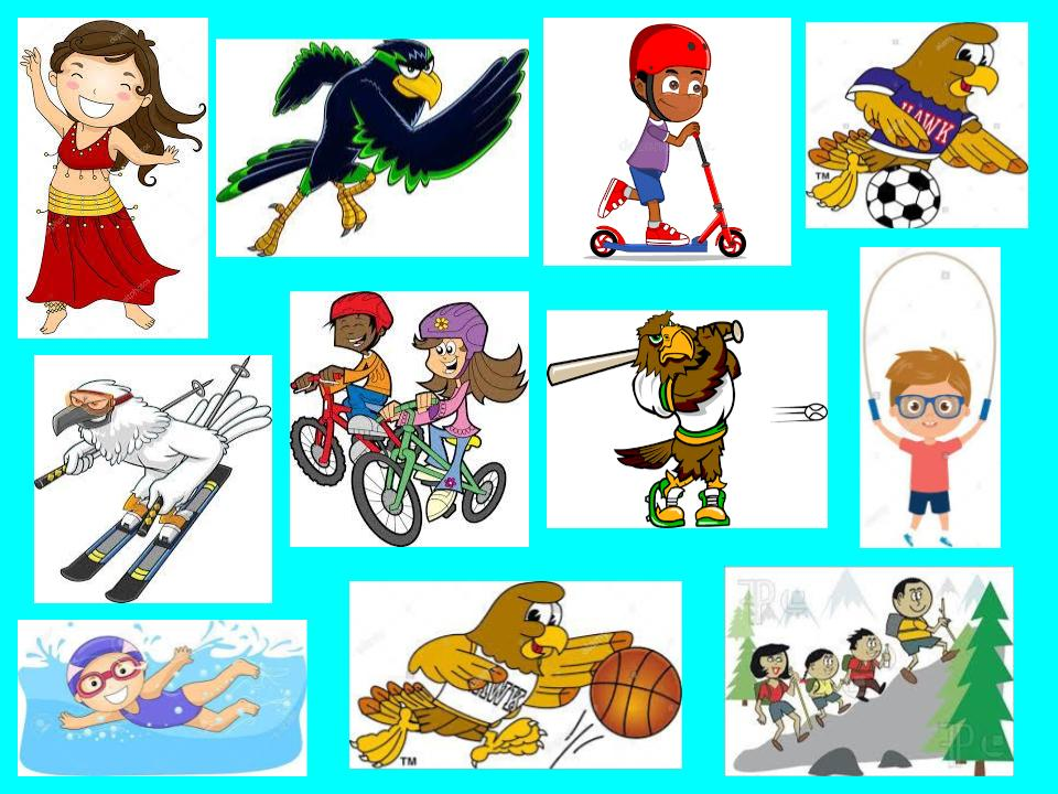 Kid exercise graphic