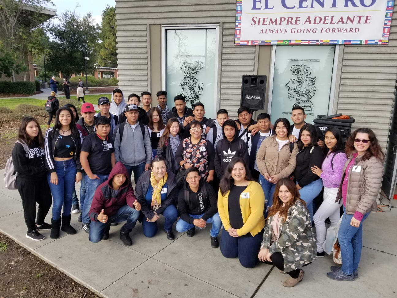 World House field trip to Chabot College