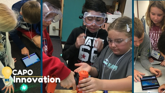 Students working in Innovation Labs