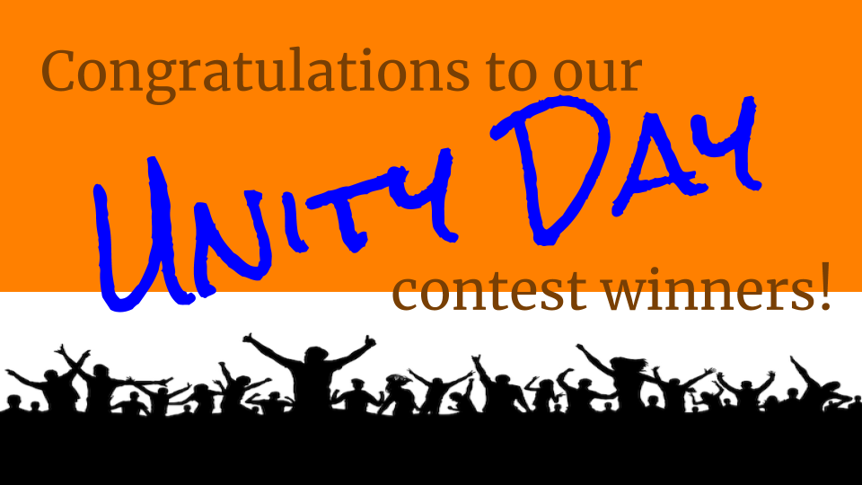 Unity Day Contest Winner