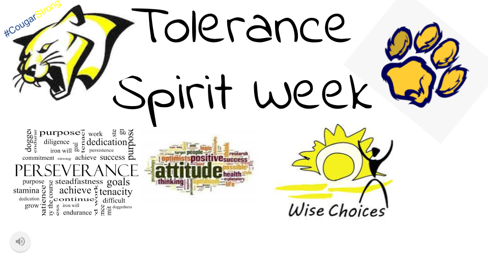 Tolerance Spirit Week