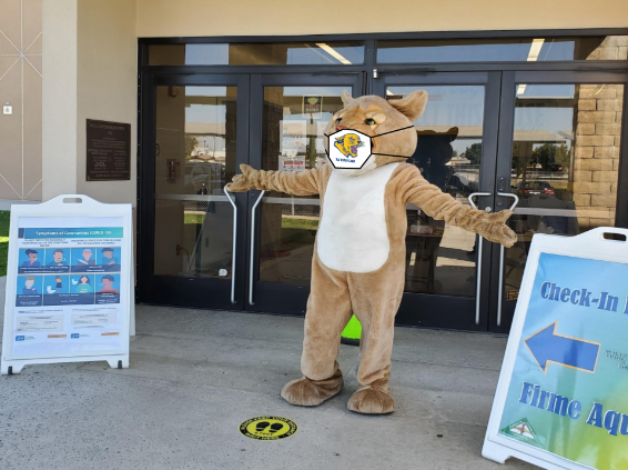 The TJ Cougar at the Learning Center