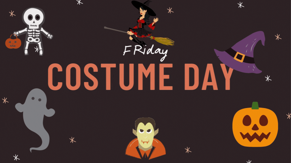 Friday Costume Day