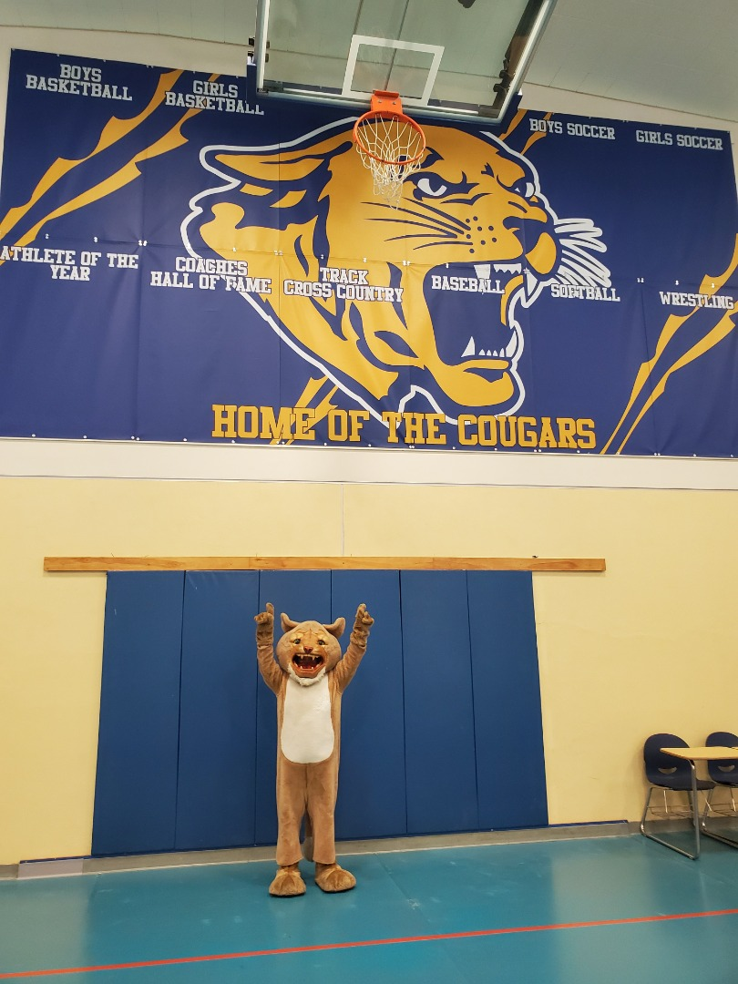 The TJ Cougar in the GYM