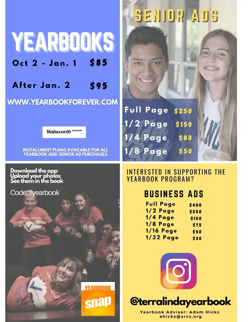 Yearbook Ad Flyer 2020-2021