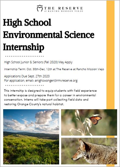 Environmental Science Internship