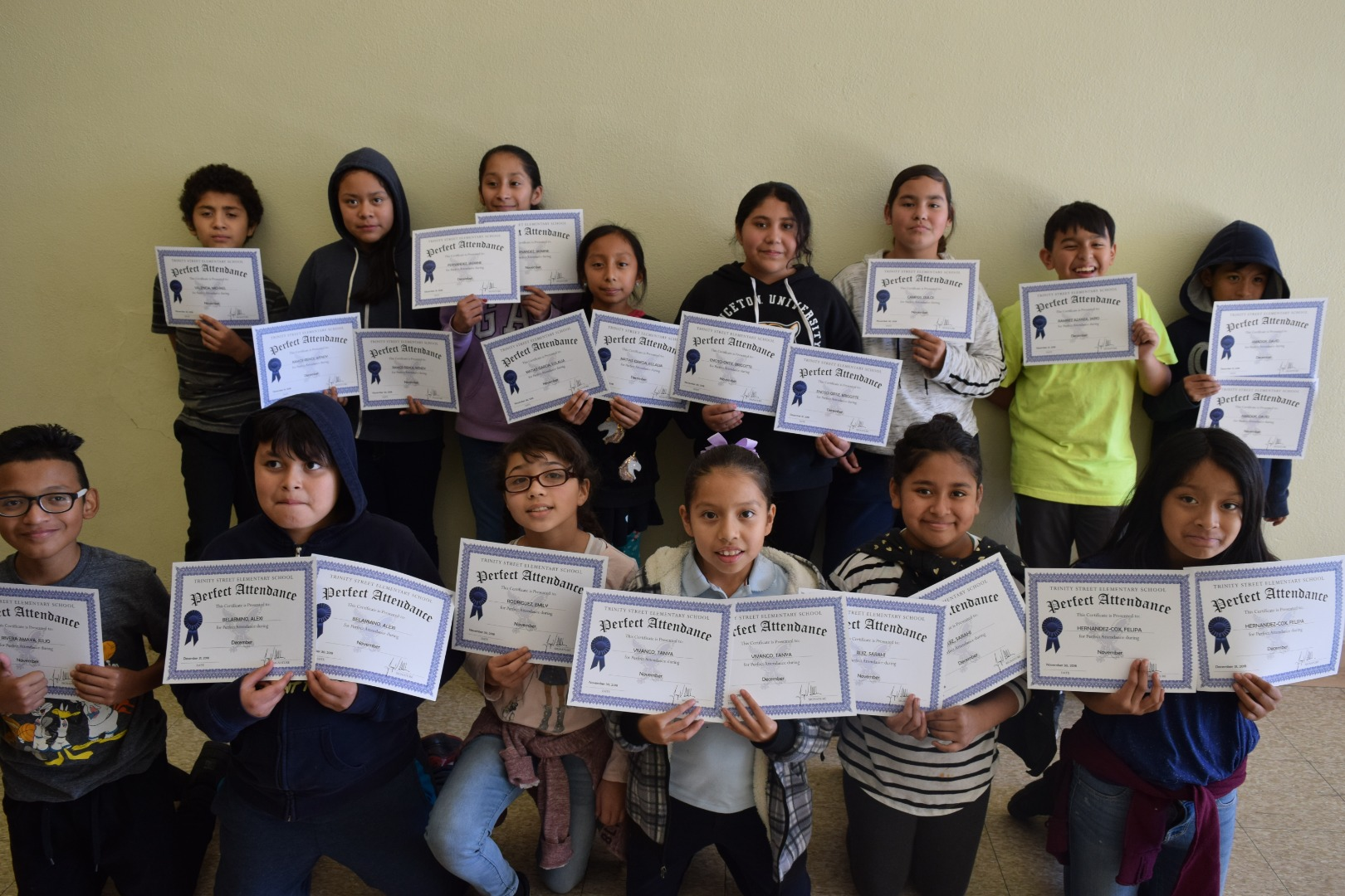 Falcon Students of the Month