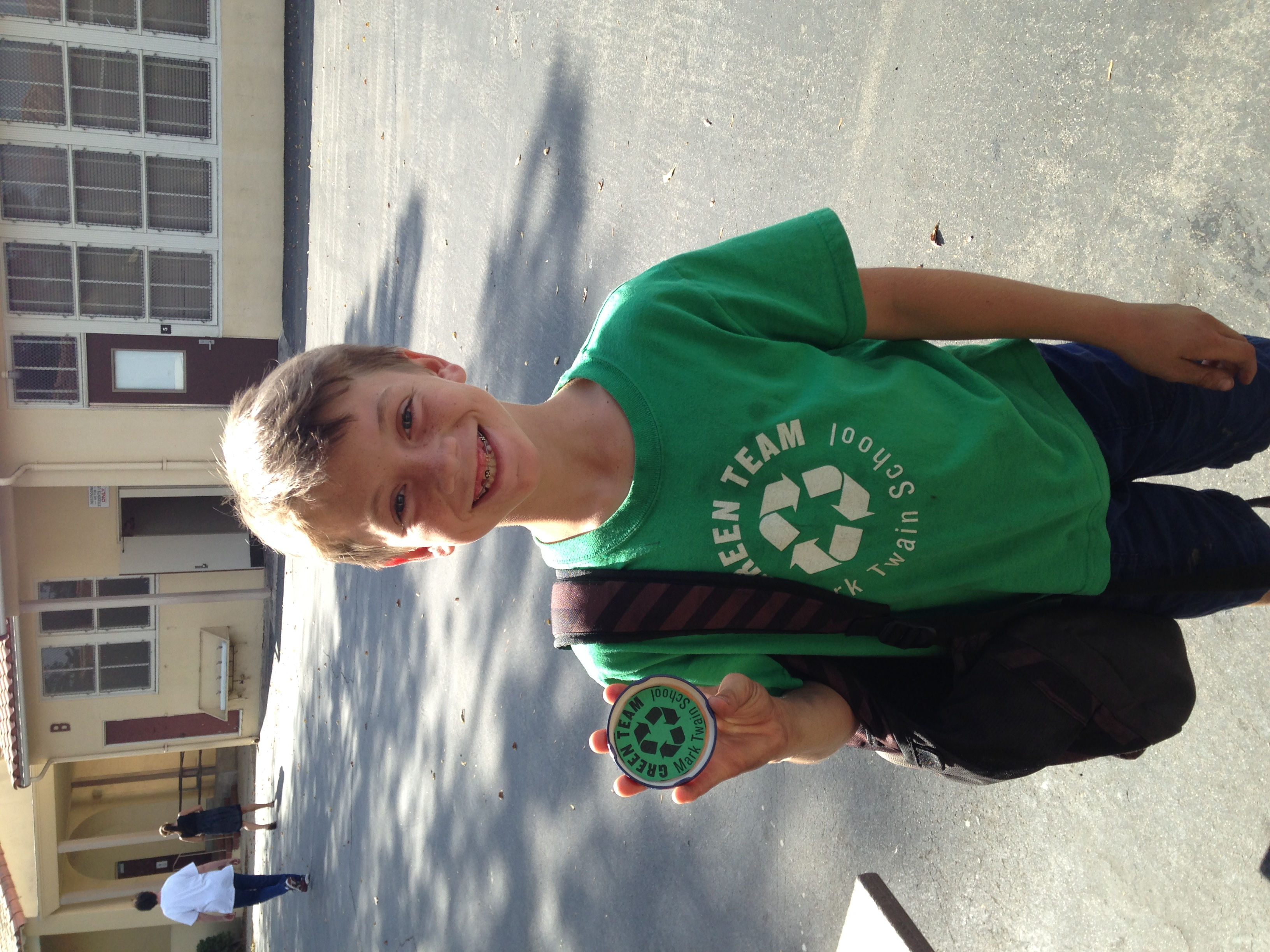 green team badge