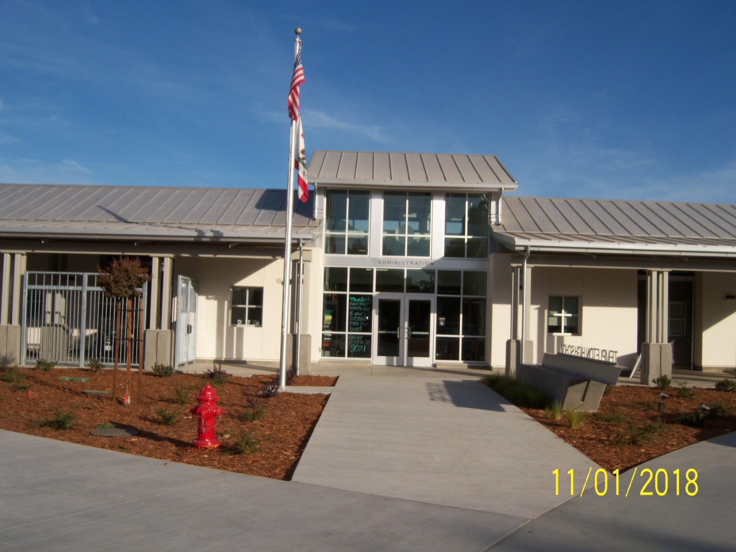New THS Administrative Offices