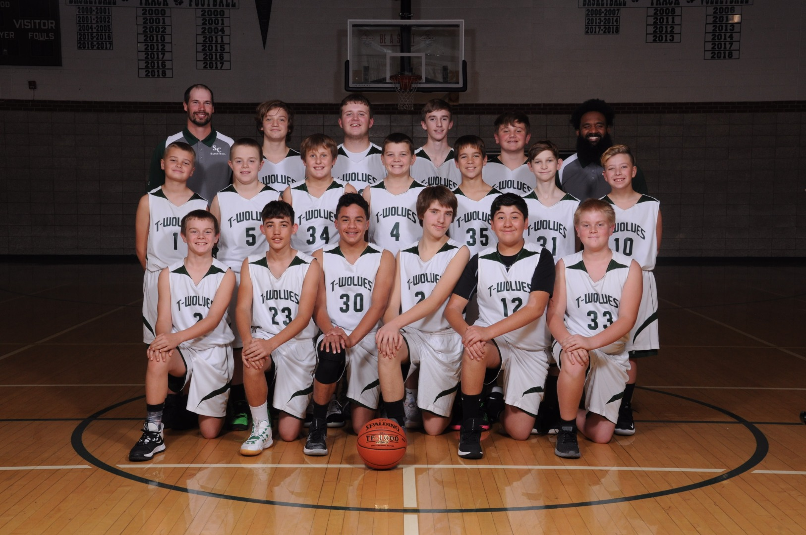 JH Boys Basketball 2020
