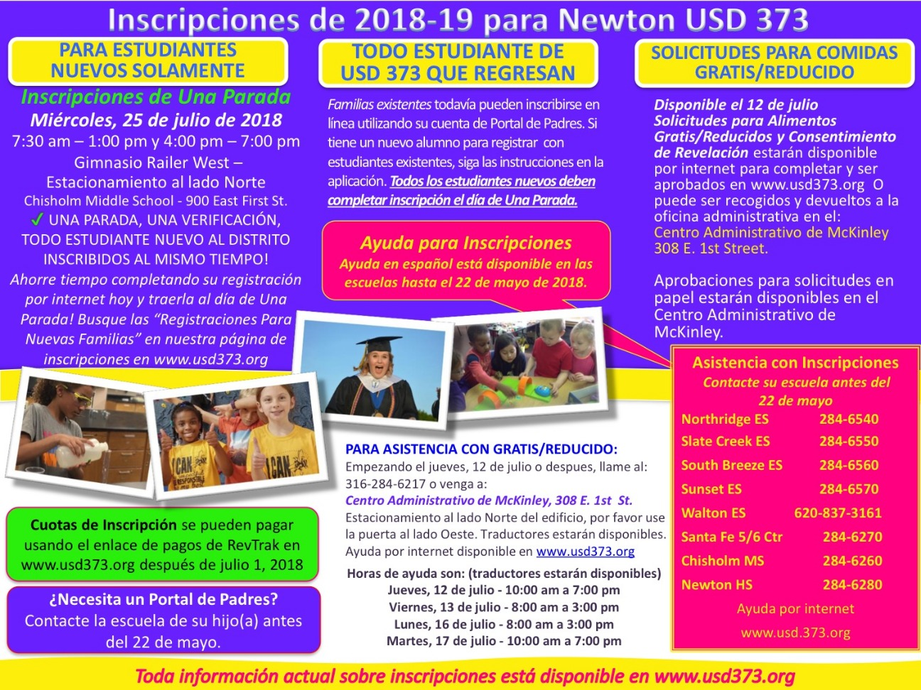 Spanish Enrollment Flyer