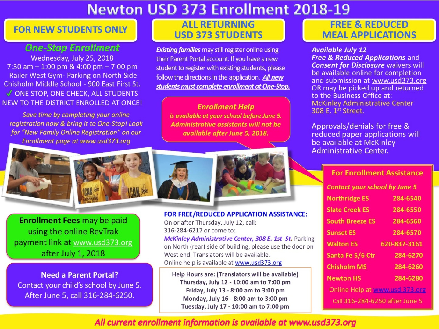 Enrollment Flyer English
