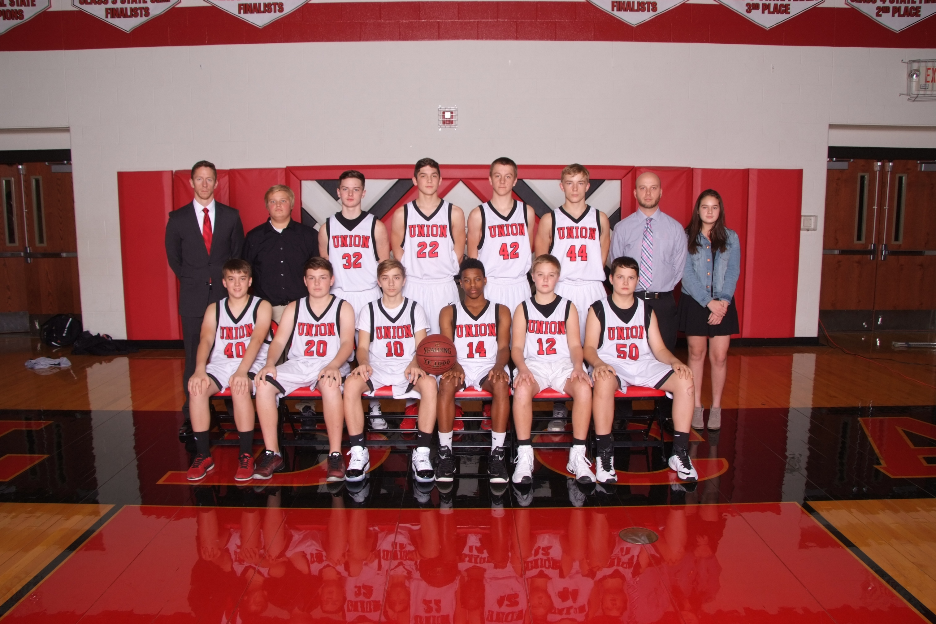Freshmen Boys Basketball 2016-17