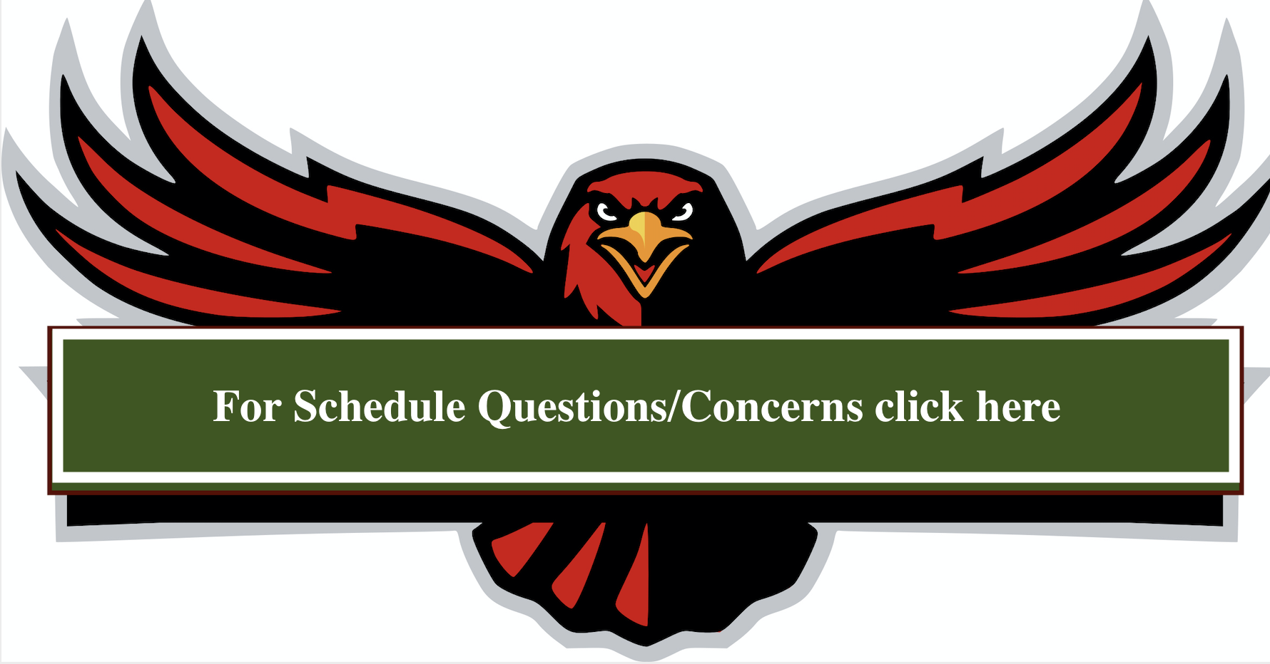 Schedule questions/concerns link to form