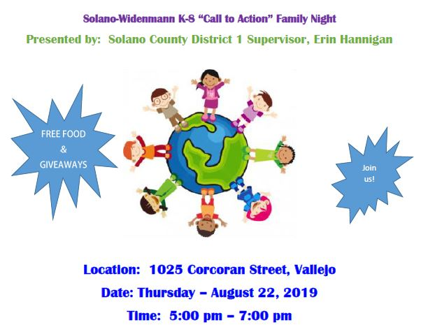 Call to Action Family Night