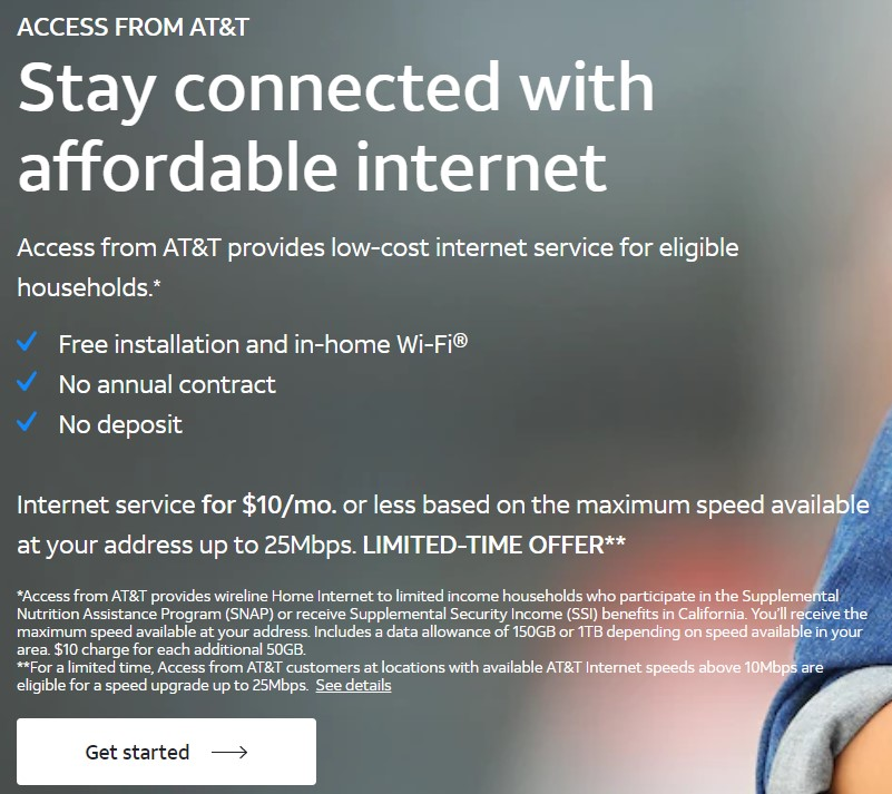 affordable att internet