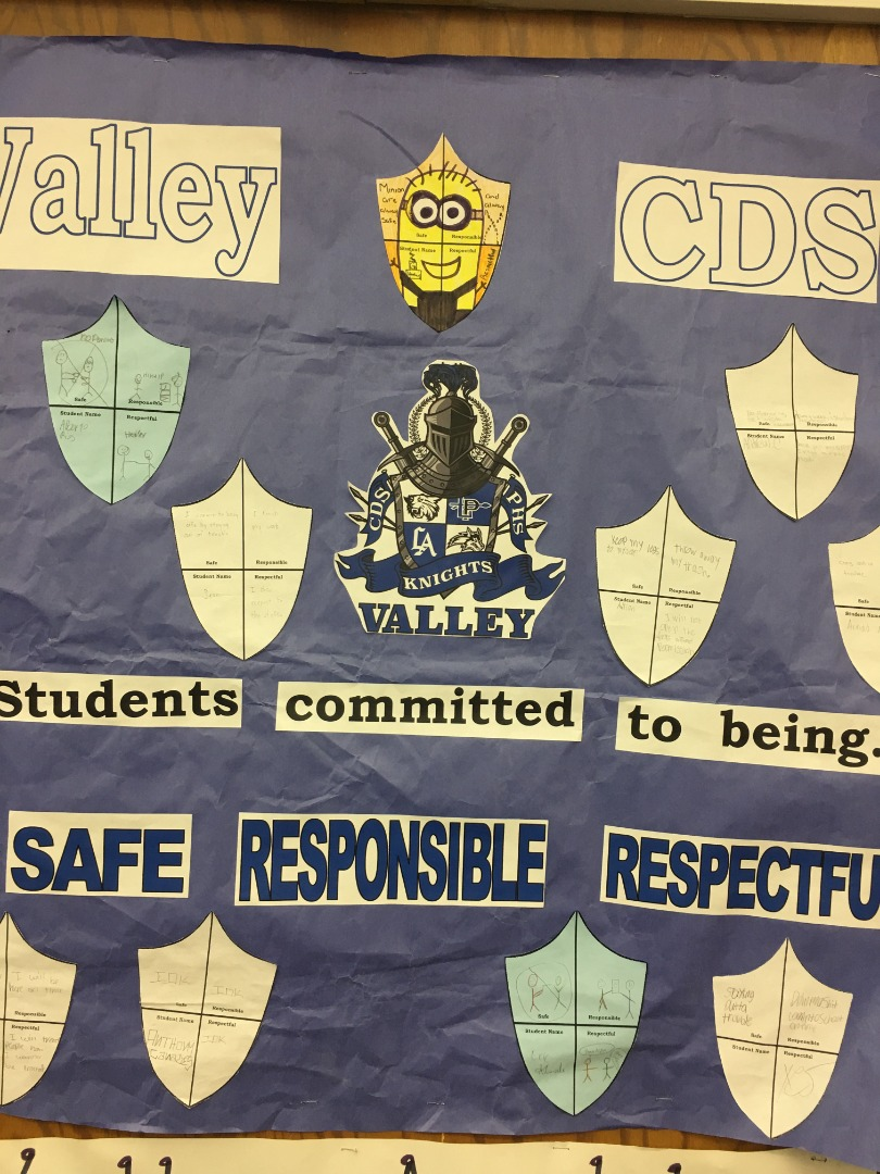 Community Day School students committed to being safe responsible and respectful