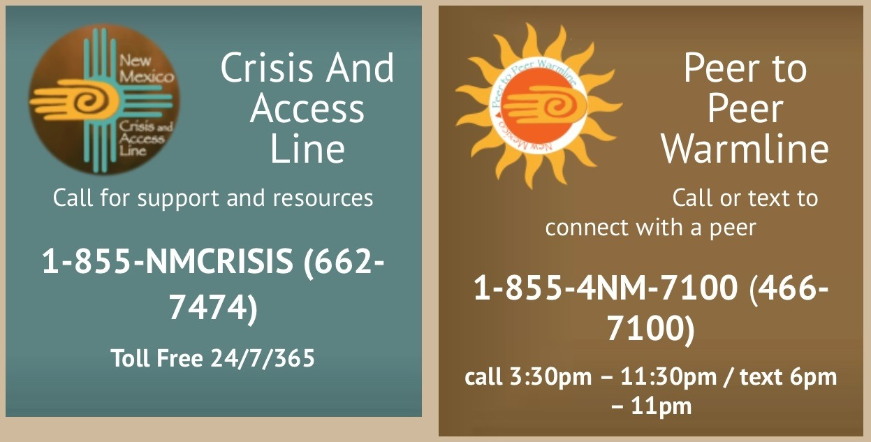 Crisis & Access Line & Peer to Peer Warmline