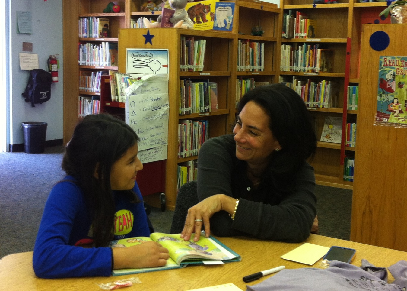 Koreh L.A. Reading Mentor and her charge