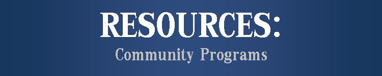resources-community programs