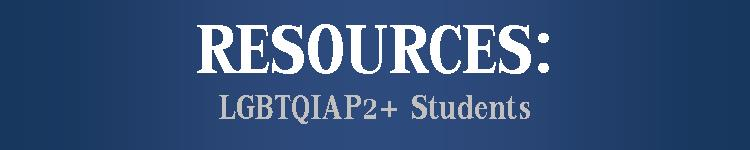 resources-LGBTQIAP2+ students