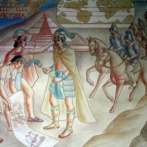 Early California to 1800 - mural detail