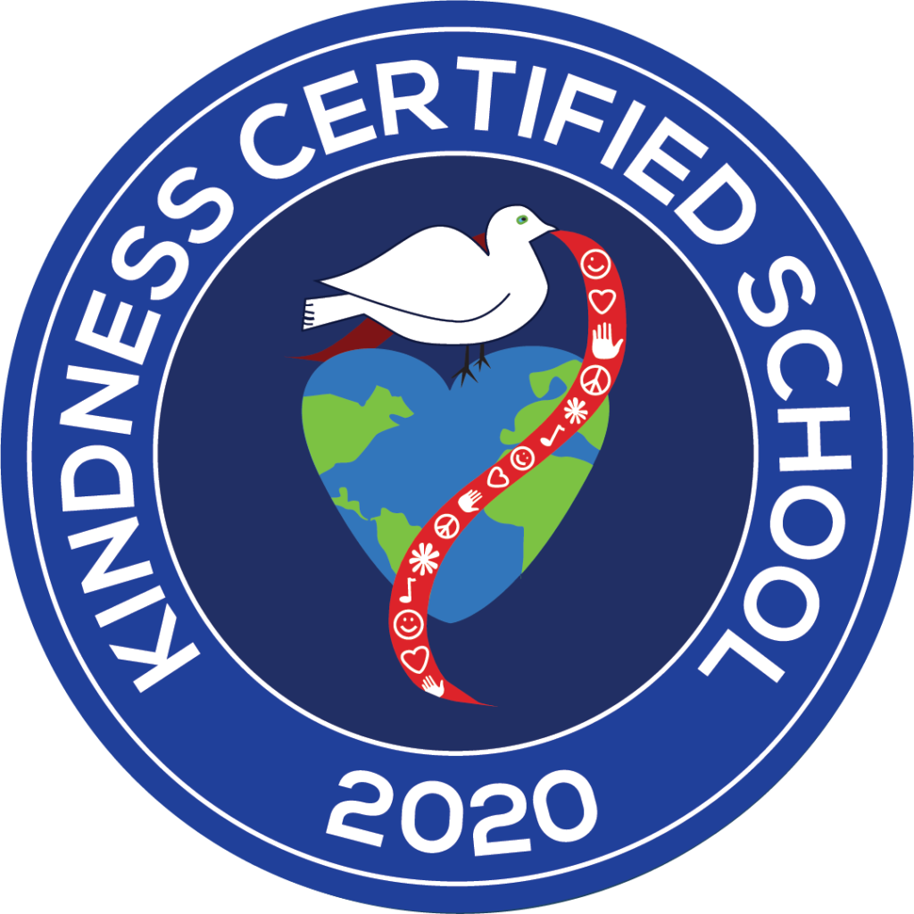 Kindness Certified School 2019 Badge