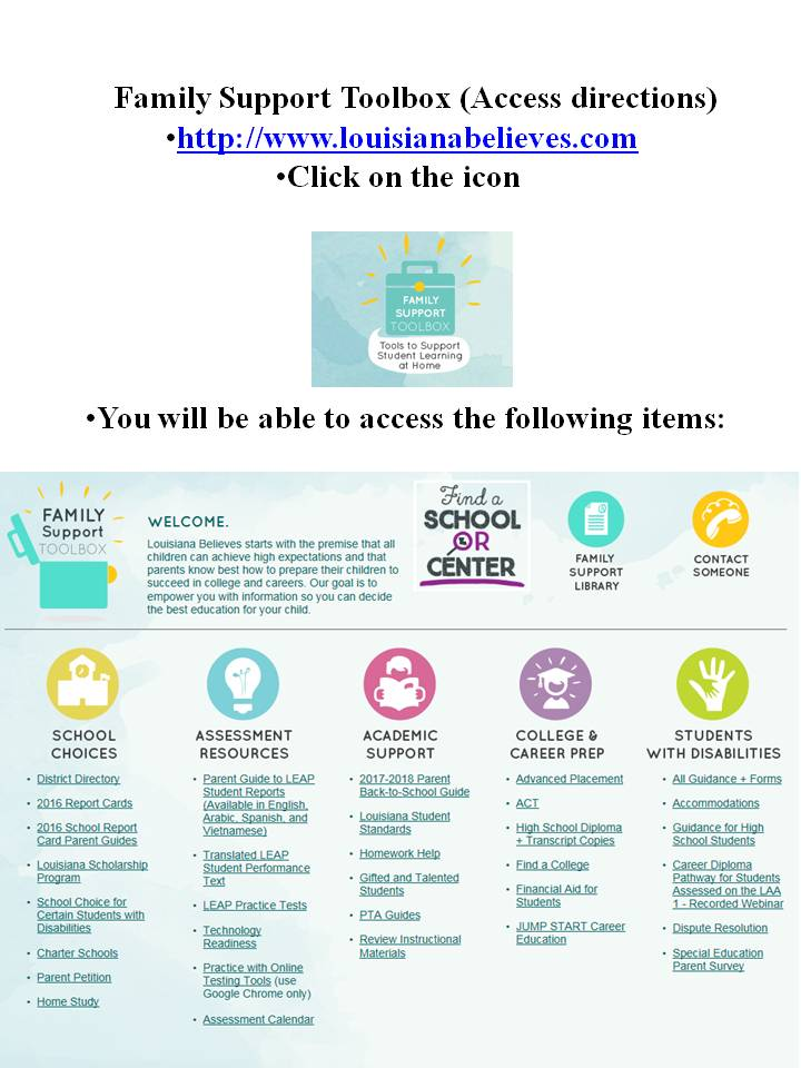 Tools to Support Student Learning at Home