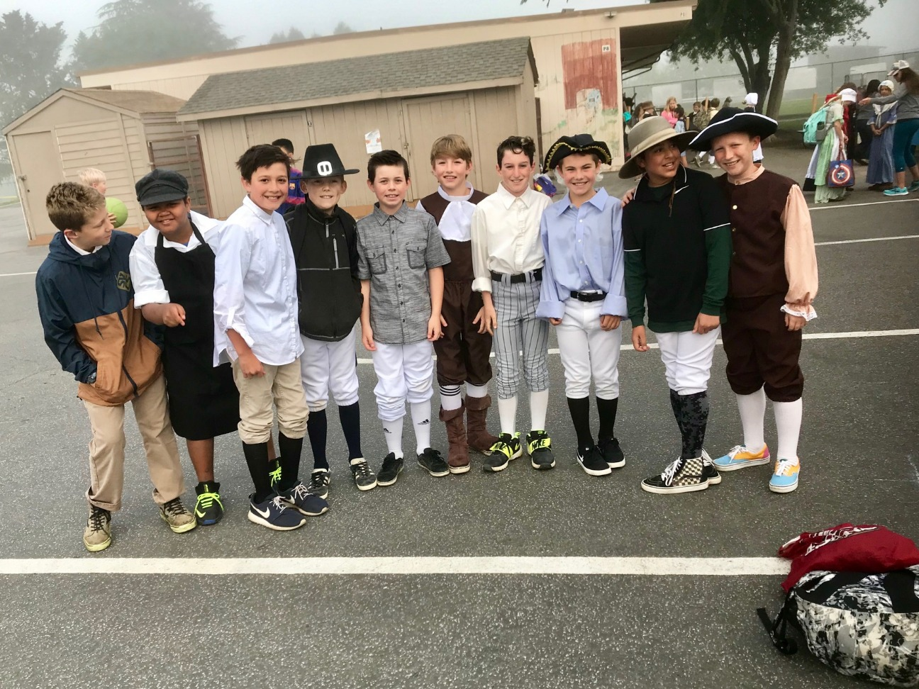 Boys of Colonial Day