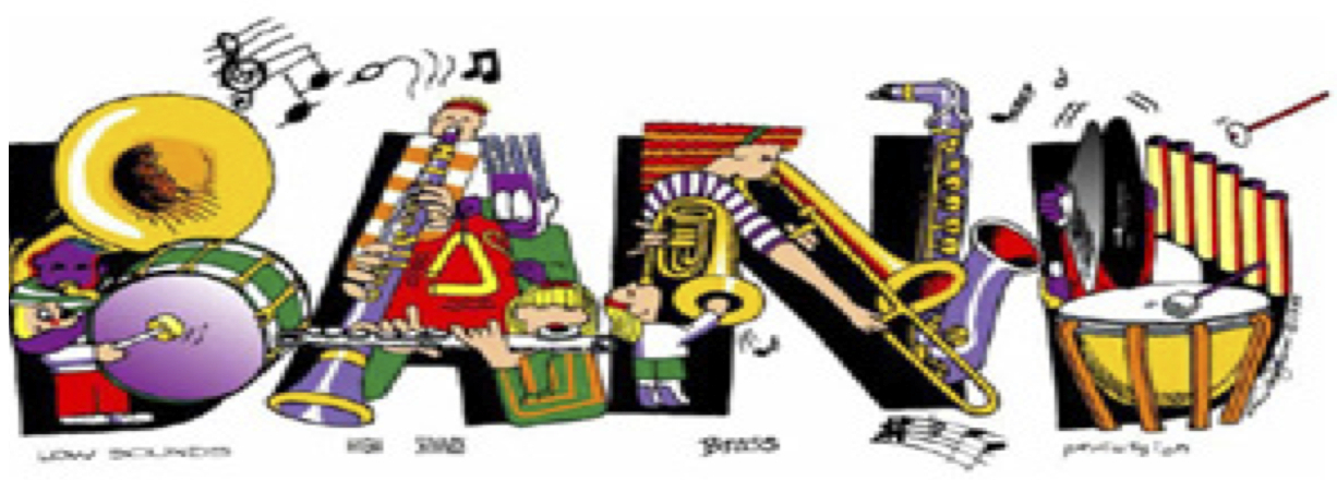 Band Letters