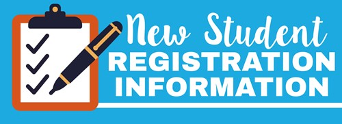 New Student Registration 1-5