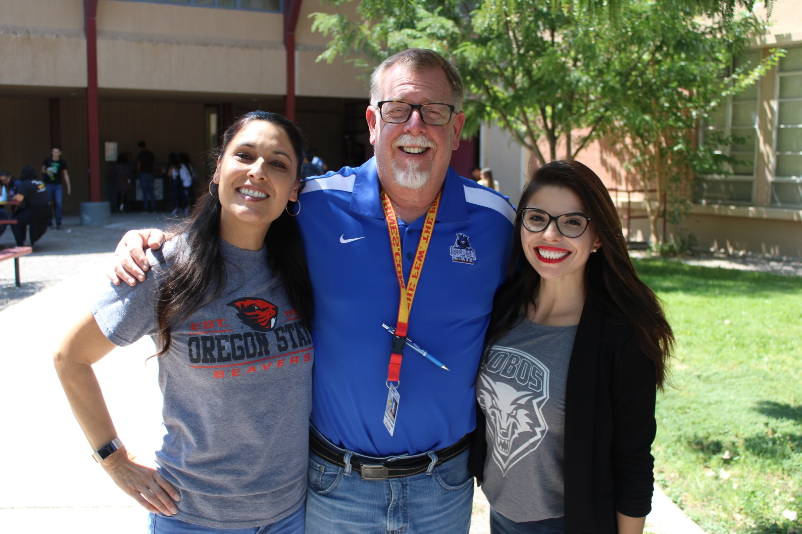 Join VHS Staff by wearing a college t-shirt!