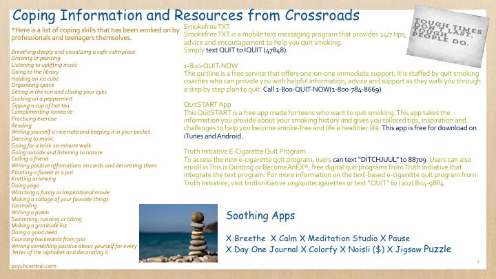 Coping Information Image