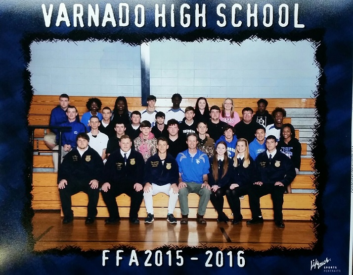 Varnado FFA Group 2015-2016
