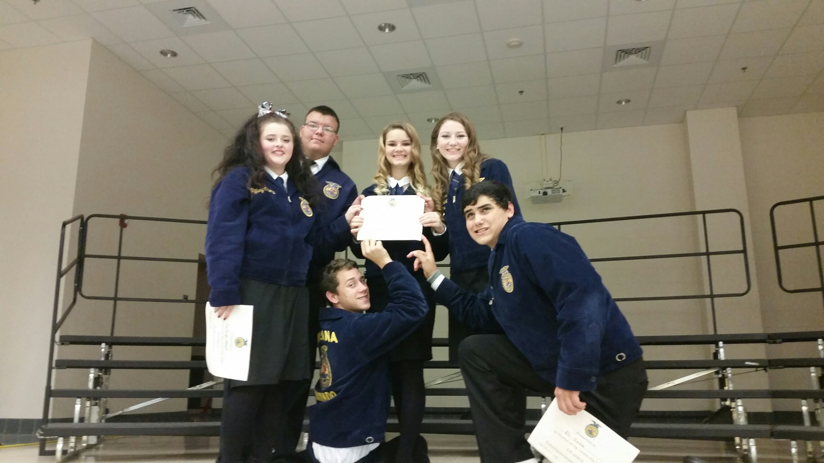District 12 Leadership CDE Winners 2015