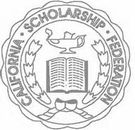 Caliornia Scholarship Federation Chapter 156N