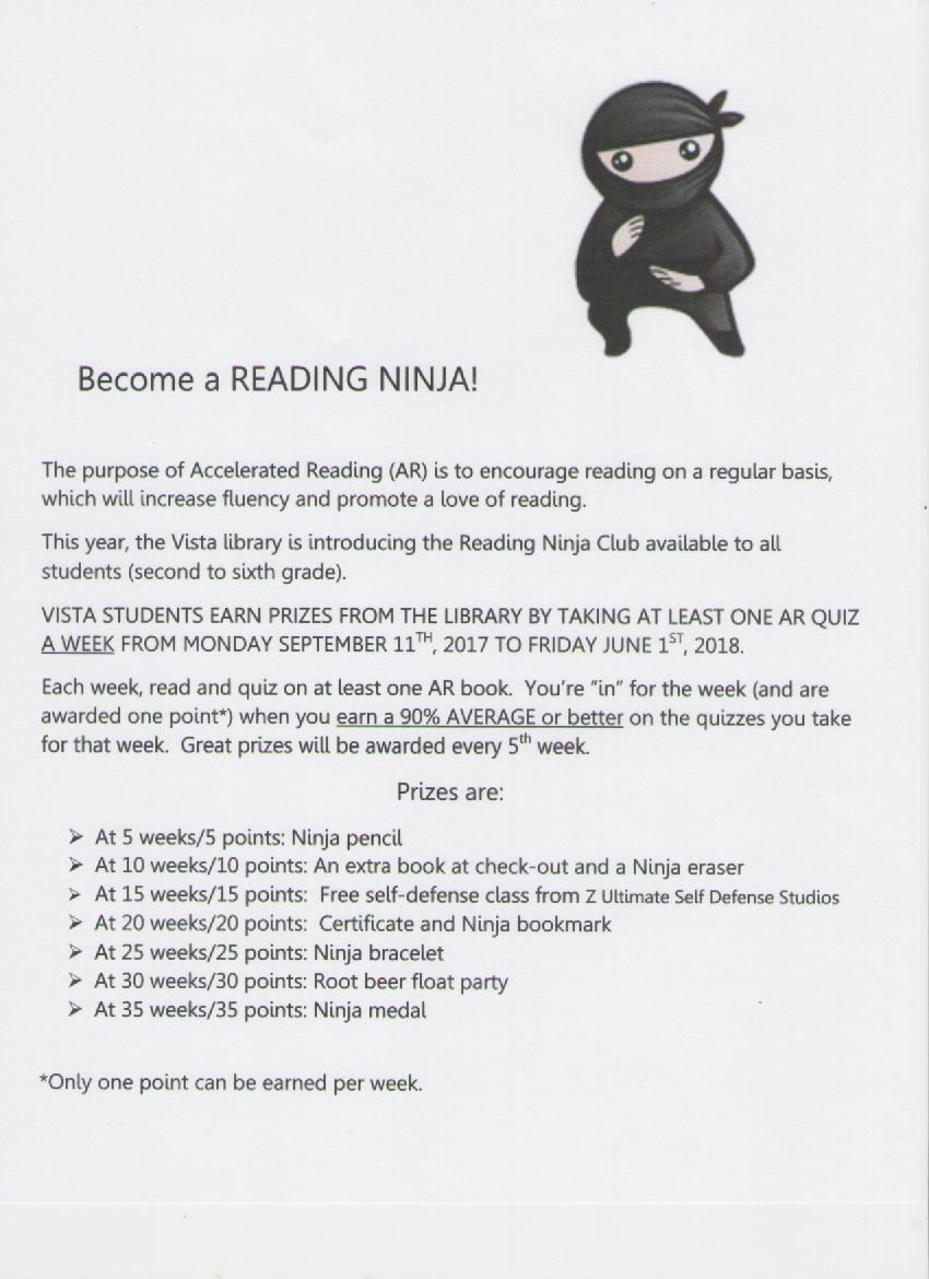 New: Become a Reading Ninja