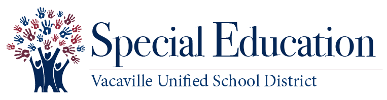 VUSD special education logo with tree