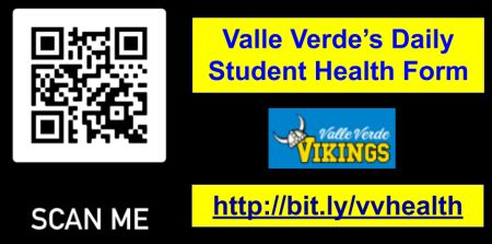 QR Code for Health Form