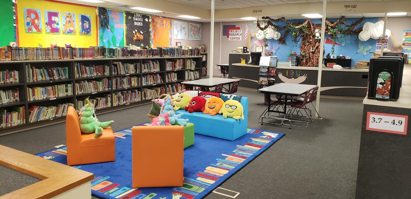 Where students can relax and read