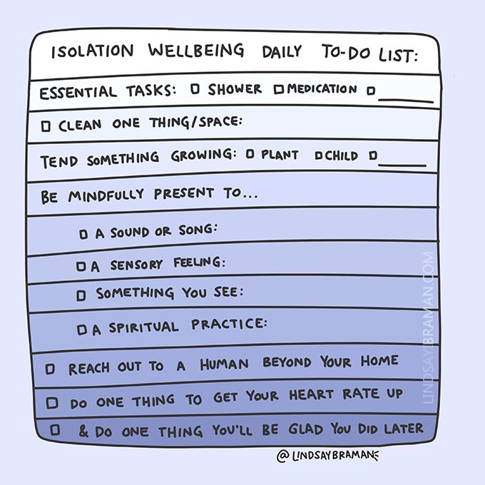 Isolation Wellbeing