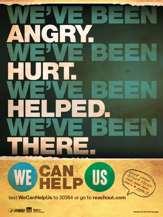 We've Been Angry, Hurt, Helped