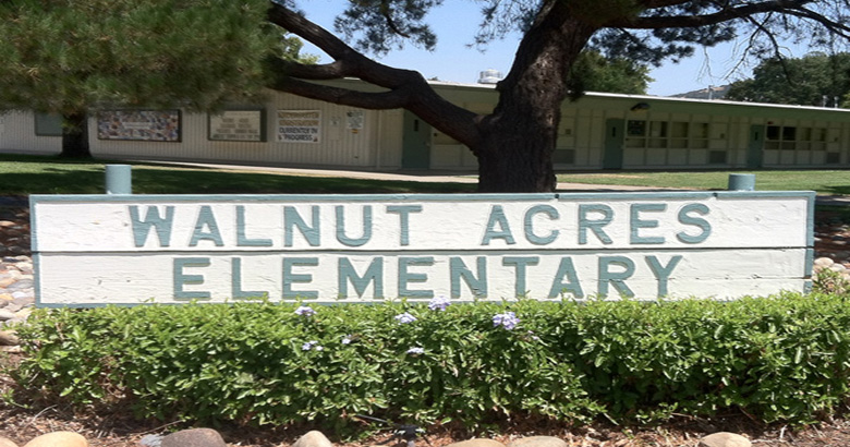 Walnut Acres Sign