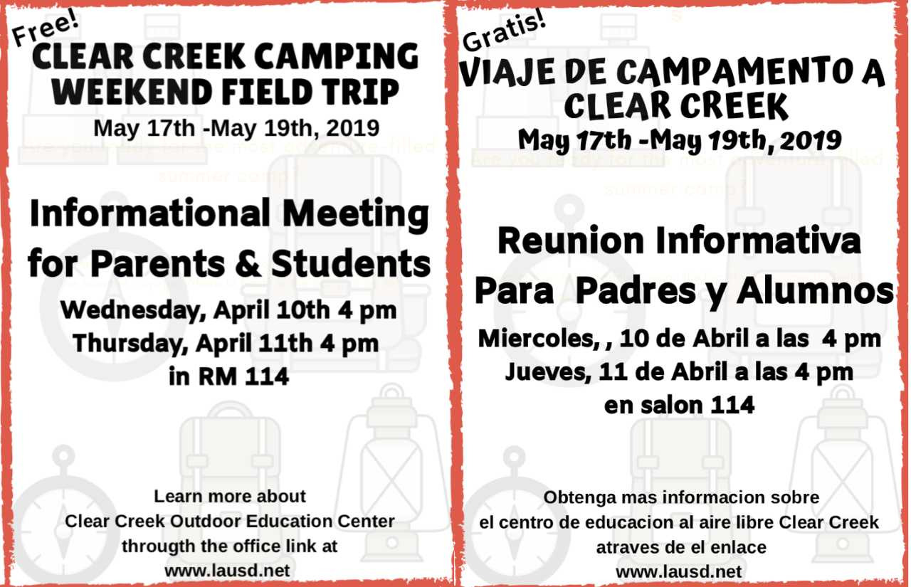 Camping Trip Flyer