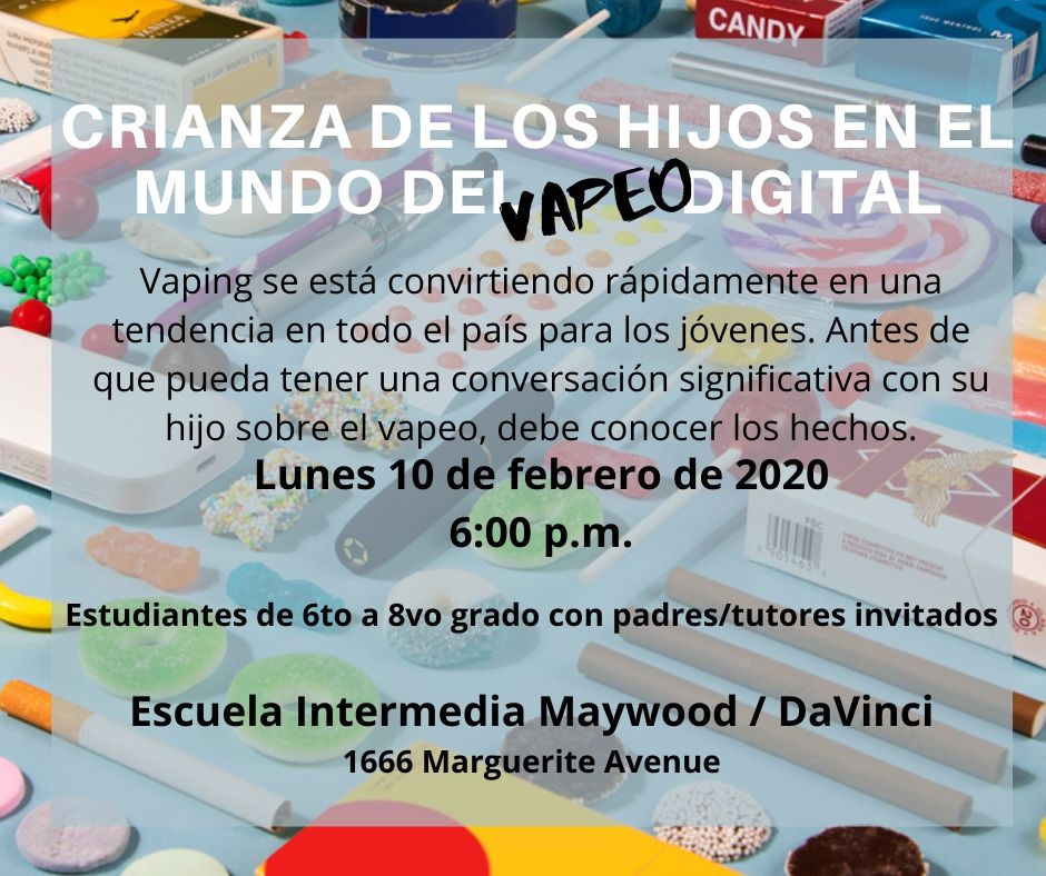Parent Vaping Assembly Spanish
